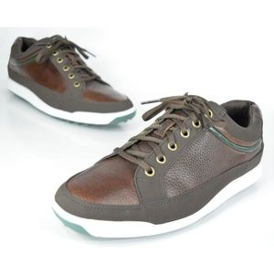 FootJoy Contour Casuals Brown Spikeless Golf Shoes